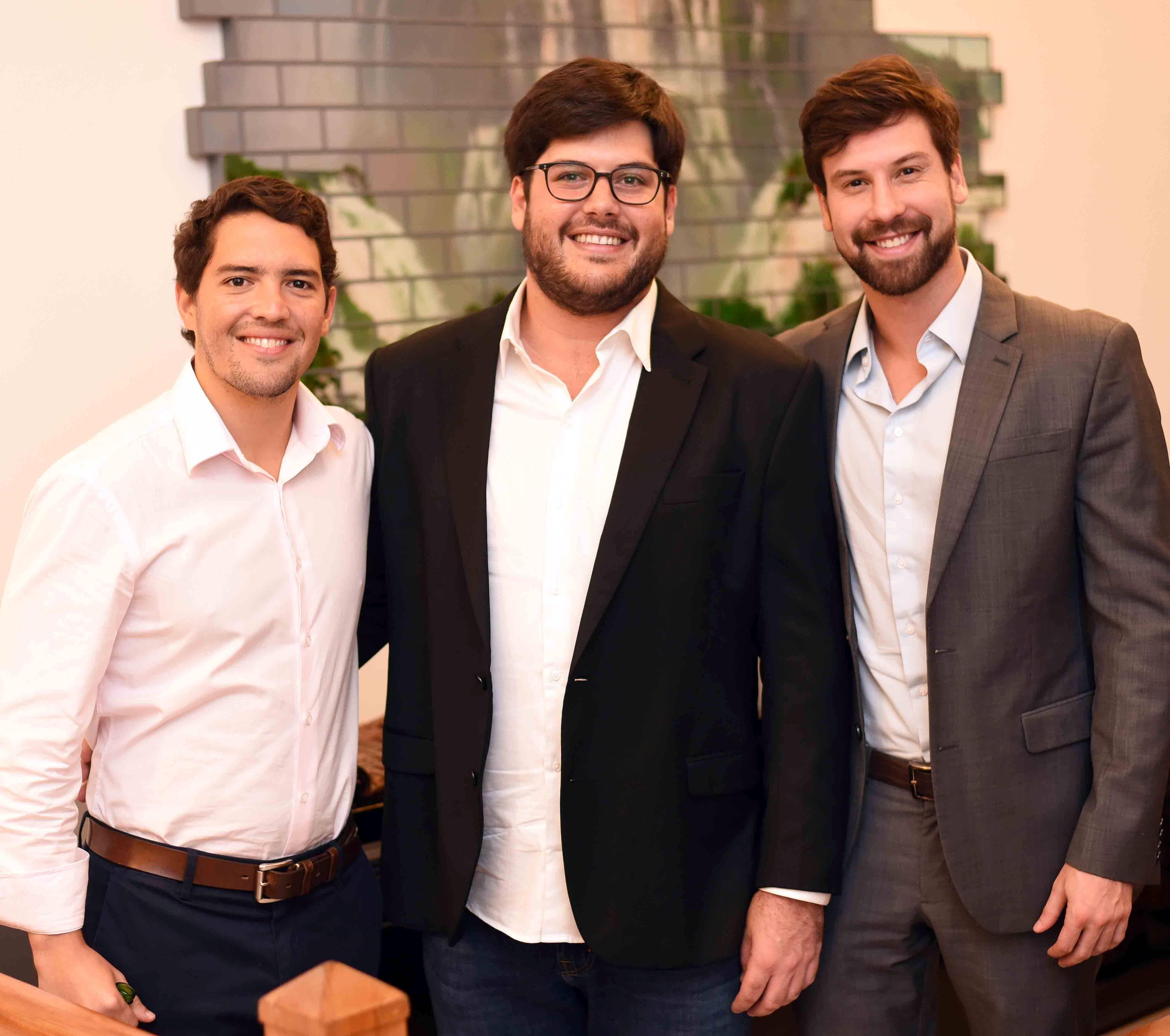 Leonardo Alves, Frederico Almeida e Sergio Freire/ Foto: Ari Kaye