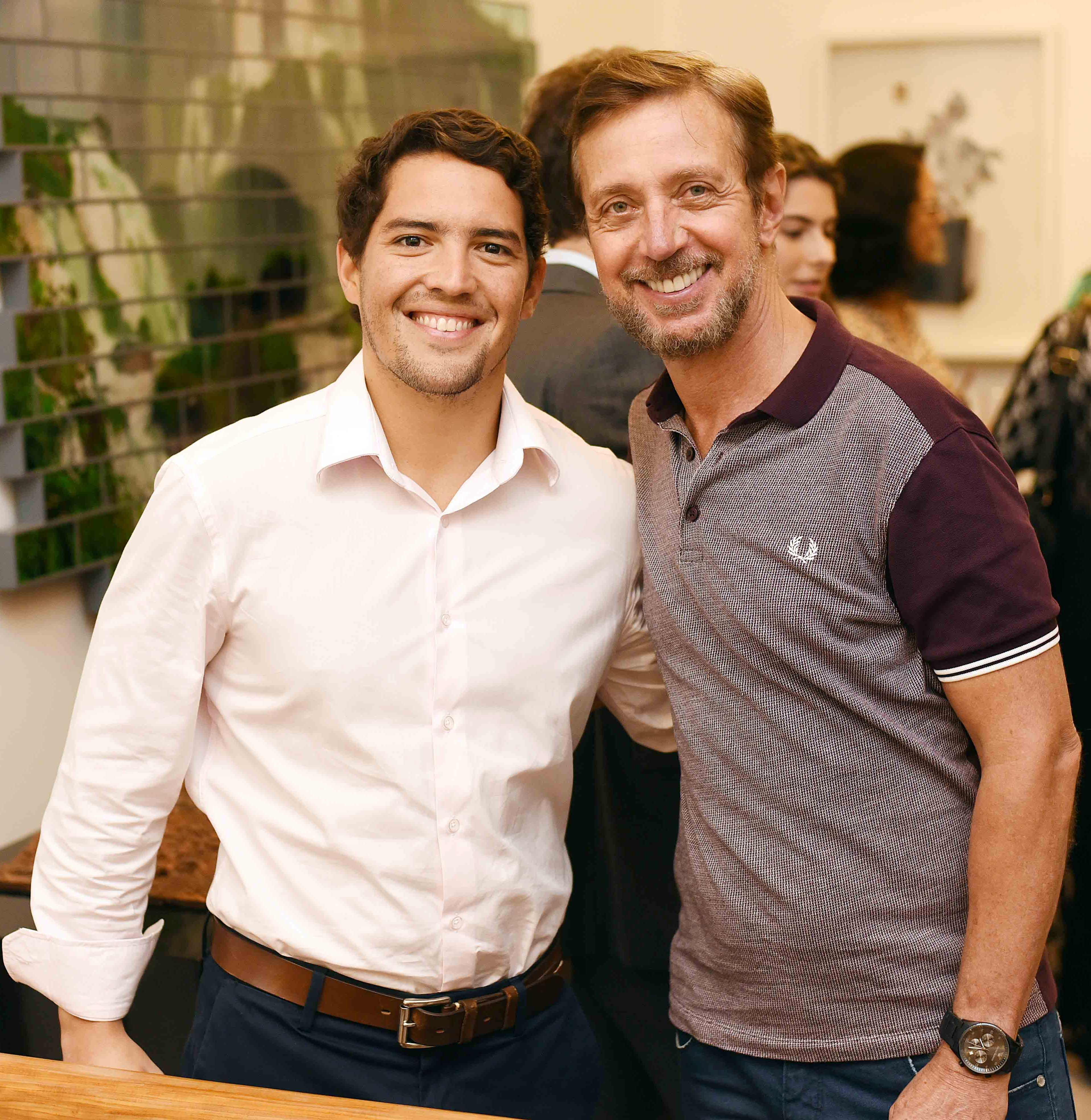 Leonardo Alves e Nando Grabowsky/ Foto: Ari Kaye