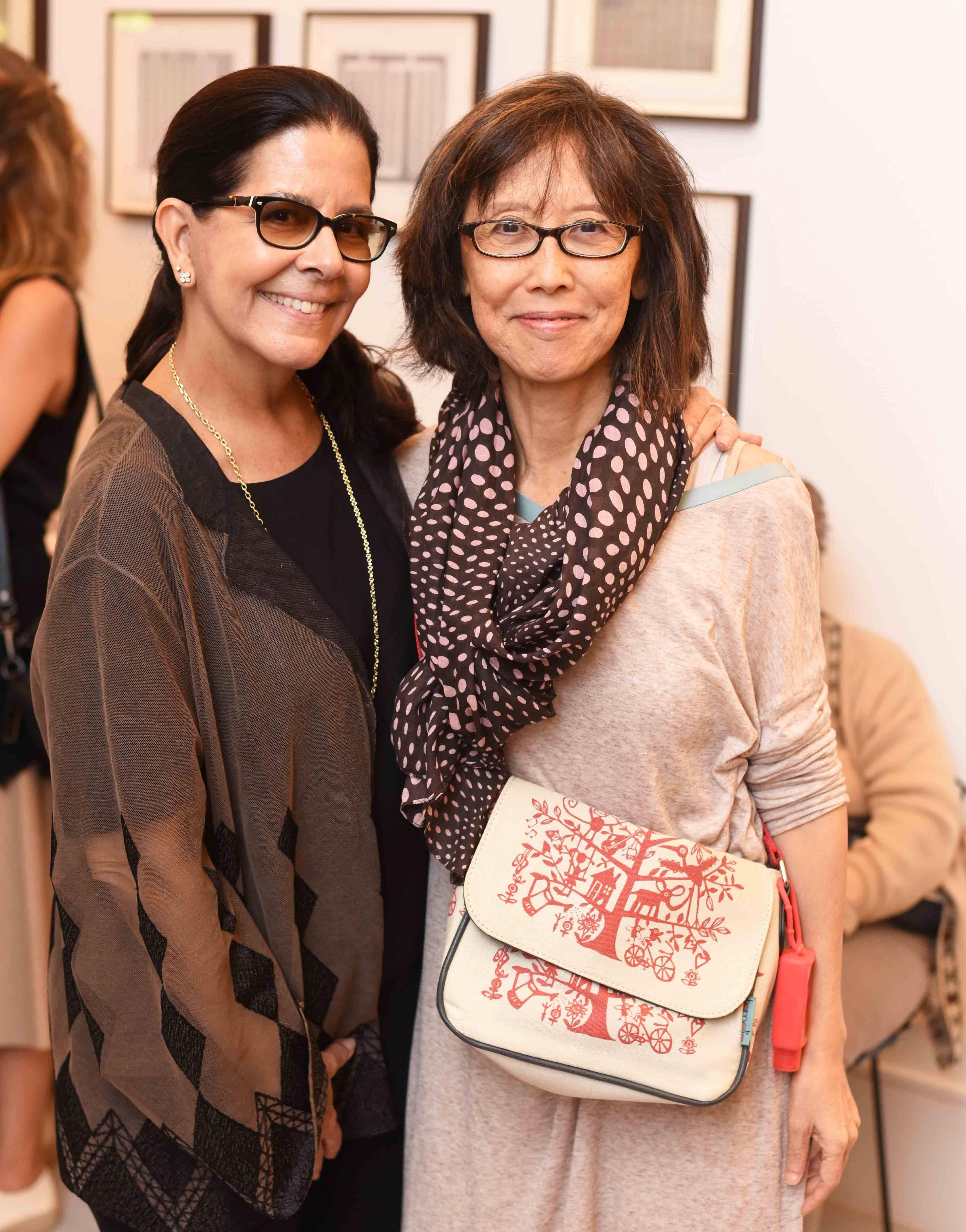 Lia Siqueira e Chean Hsui/ Foto: Ari Kaye