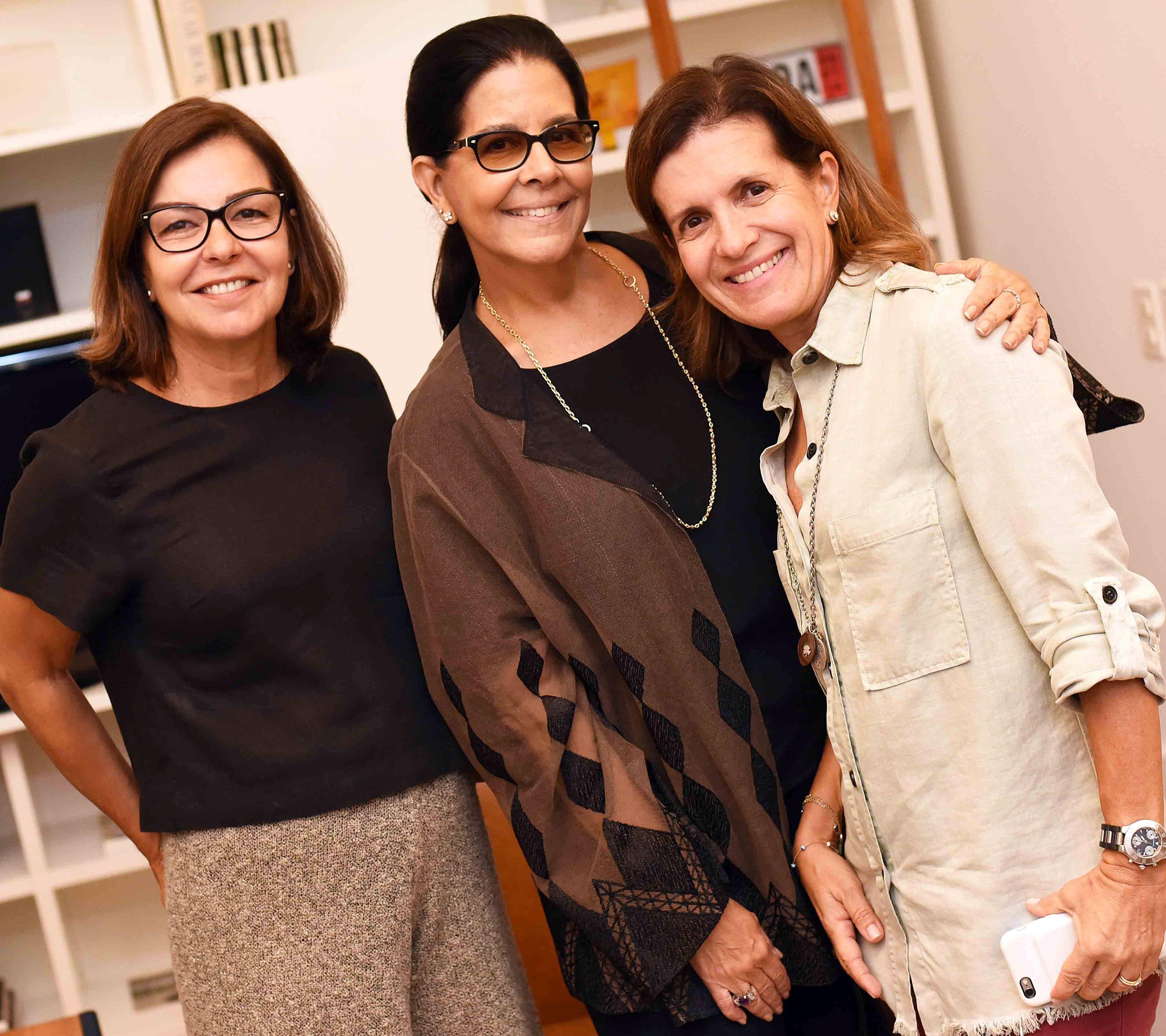 Maria Beatriz Varella Gomes, Lia Siqueira e Angelica Varella/ Foto: Ari Kaye