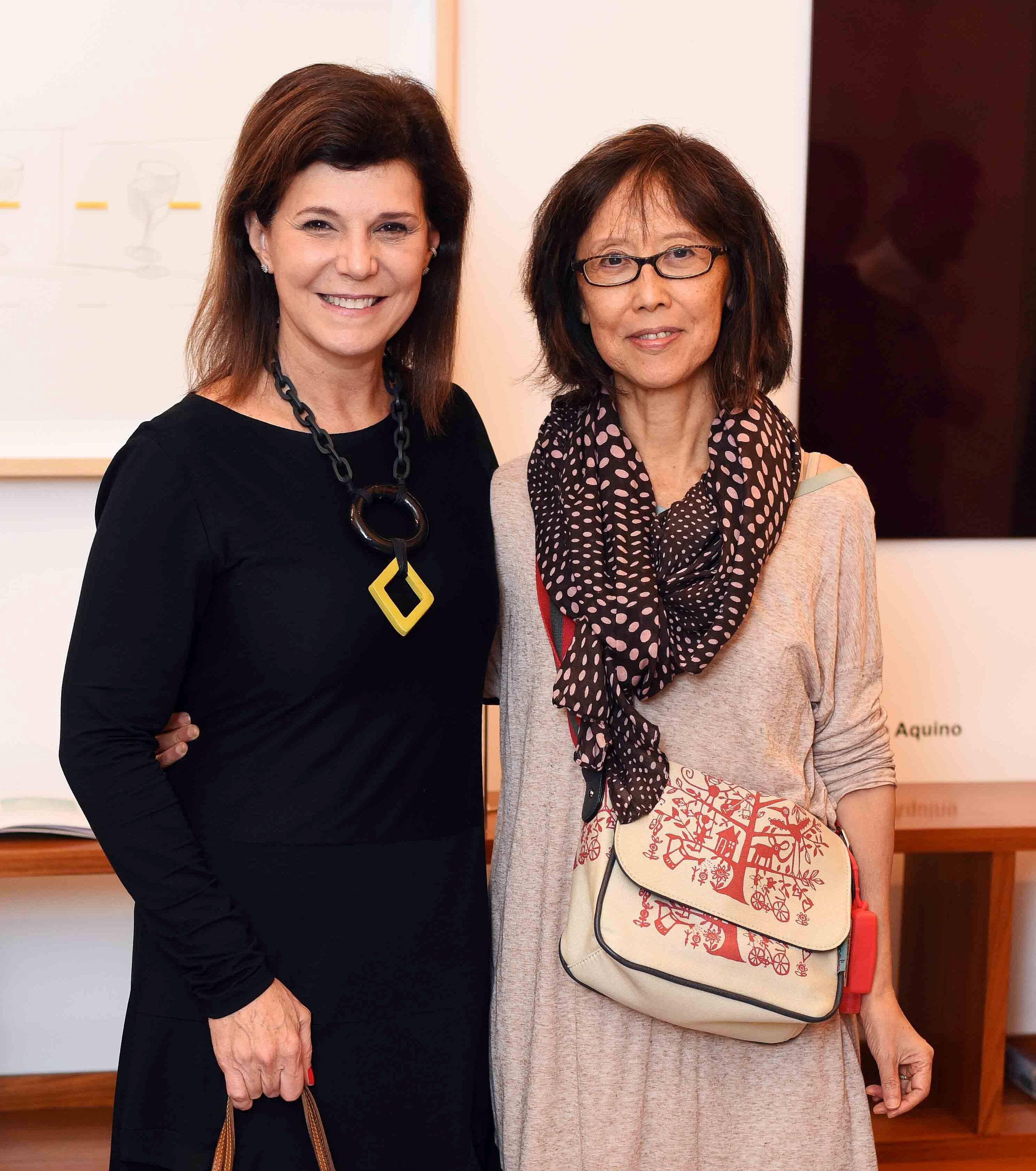 Paula Neder e Chean Hsui/ Foto: Ari Kaye