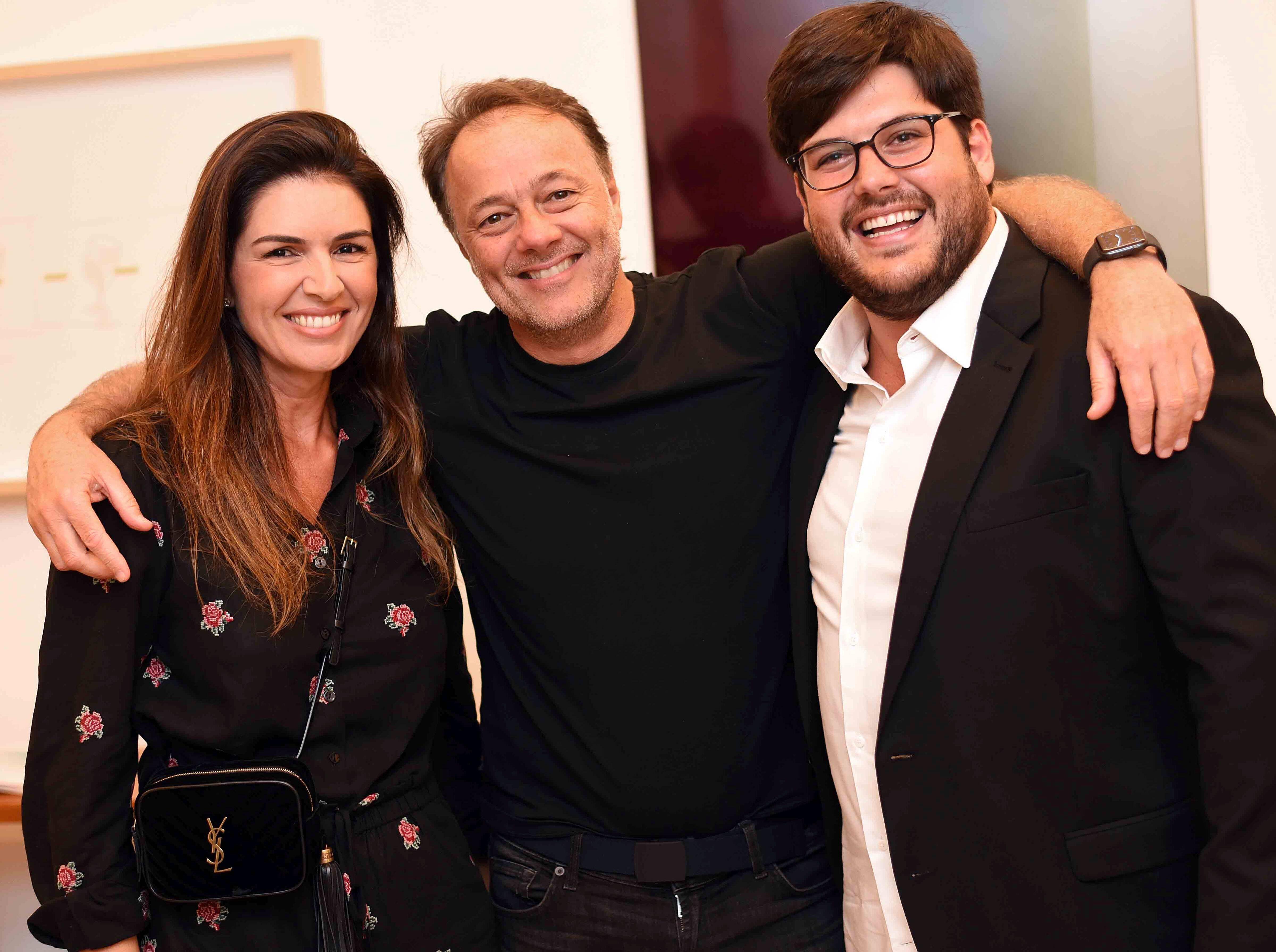 Priscilla Garson, Samuel Garson e Frederico Almeida/ Foto: Ari Kaye
