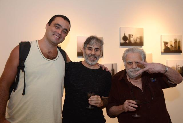 Cavi Borges, Alexandre Dacosta e Luiz Rosenberg