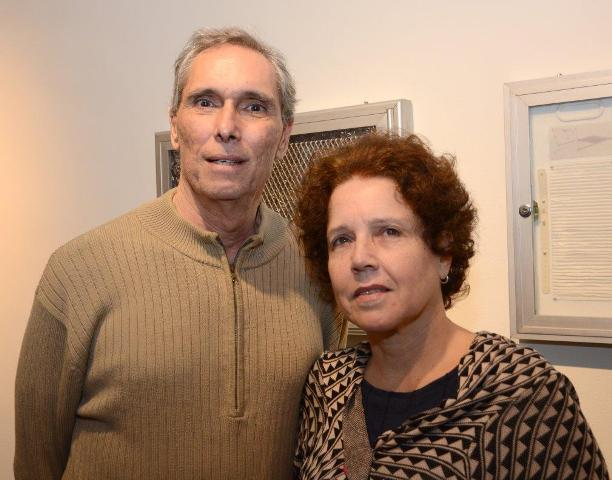 Pedro Paulo Domingues e Monica Barreto