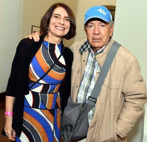 Monica Barki e Evandro Teixeira