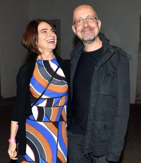 Monica Barki e Franklin Cassaro