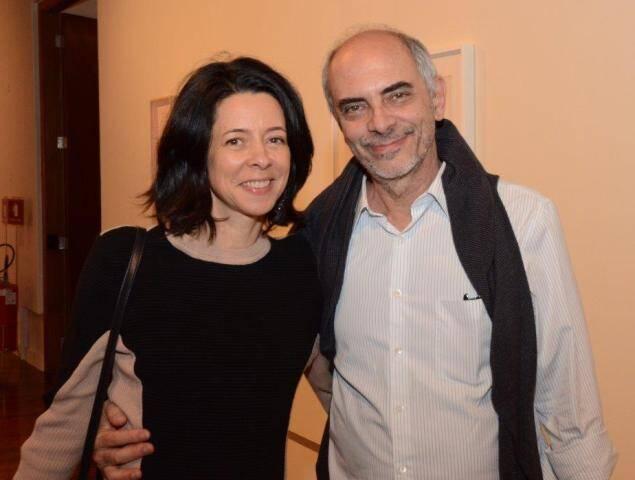 Claudia Oliveira e Milton Machado