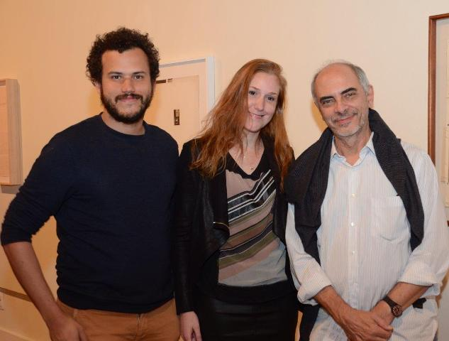 Felipe Pena, Ana Elisa Cohen e Milton Machado