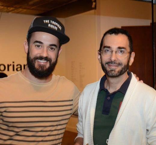 Jaime Portas Vilaseca e Alexandre Muricci