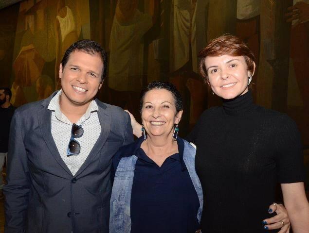 Lucas Lins, Vera Matagueira e Stefania Paiva