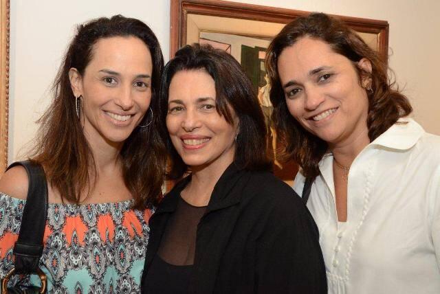 Mariana, Ana Maria e Gabriela Índio da Costa