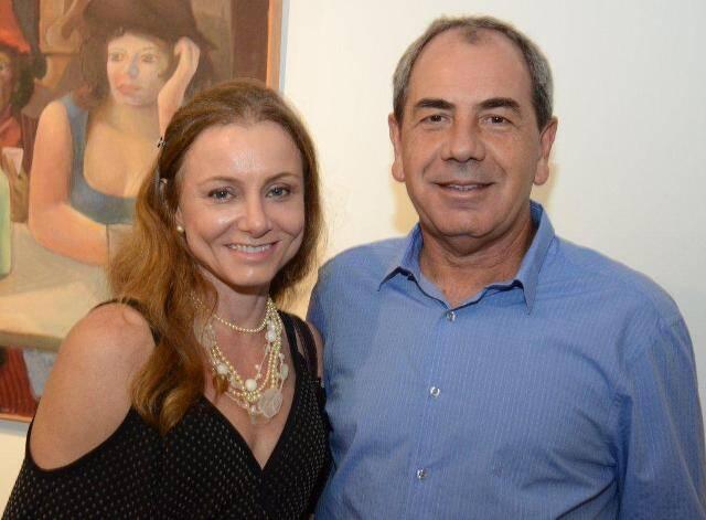 Carol Aguiar e Luis Paulo Montenegro