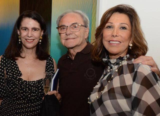 Fátima Brizola, Geraldo Lamêgo e Anna Luiza Rothier