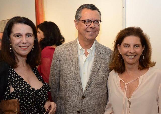 Fátima Brizola, João Afonso e Kitty Assis