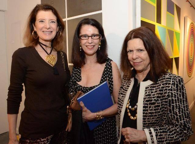 Fernanda Basto, Fátima Brizola e Vanda Klabin