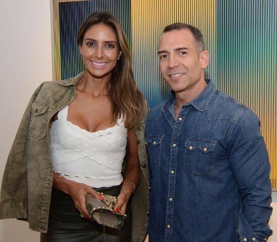 Flávia Sampaio e Léo Araújo