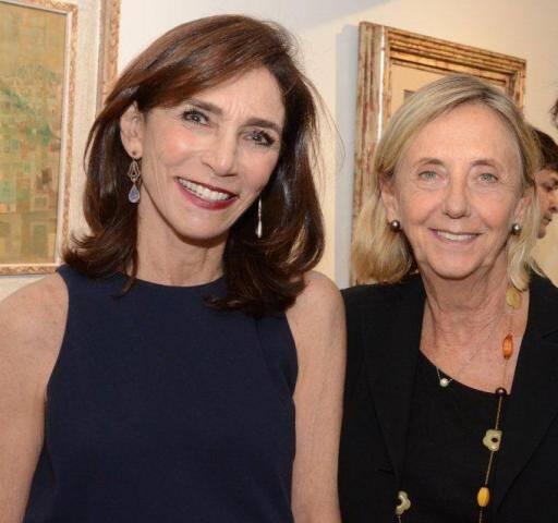 Gisela Marinho e Teresa Seiler