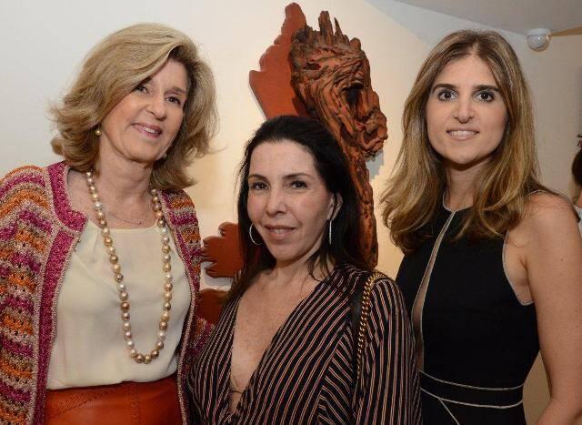 Guida Sève, Paola Ribeiro e Daniela Sève