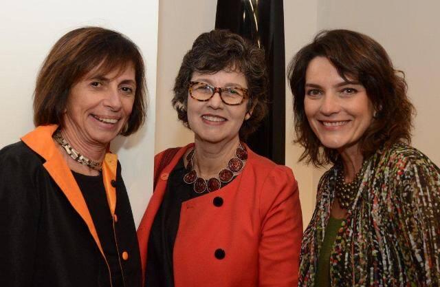 Helena Celestino, Cláudia Noronha e Melissa Jannuzzi