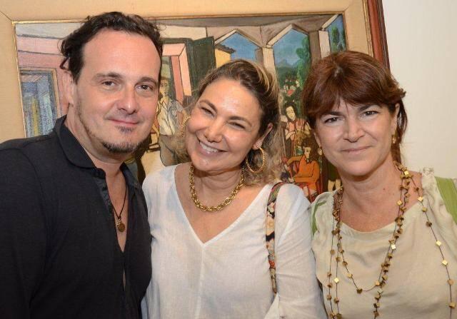 Marcelo Lima, Marcia Müller e Cacília Borges