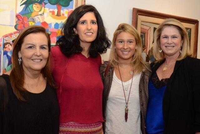 Maura Laura de Freitas, Luciana Sève, Raphaela e Gloria Severiano Ribeiro