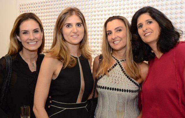 Renata Bandeira de Mello, Daniela Sève, Viviam Alamino e Luciana Sève