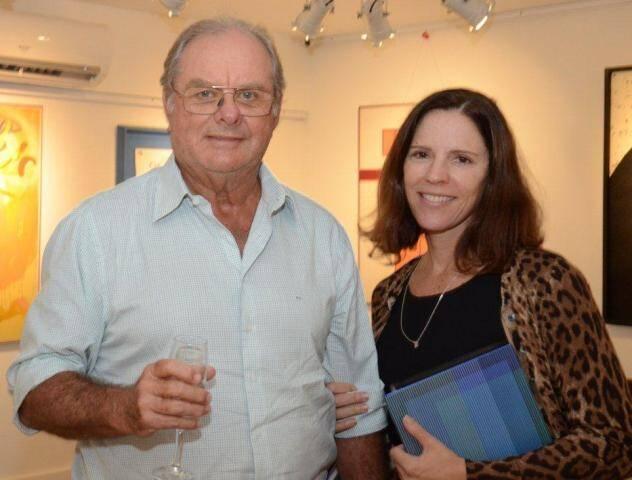 Sérgio Alberto e Mariana Monteiro de Carvalho