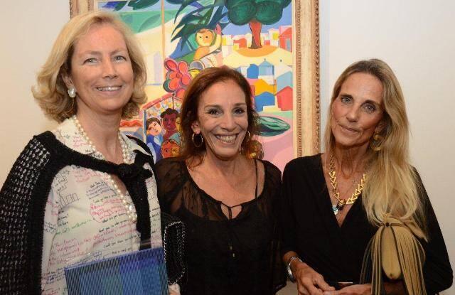 Teresa Sicupira, Alicinha Silveira e Ana Cristina Moreira da Fonseca