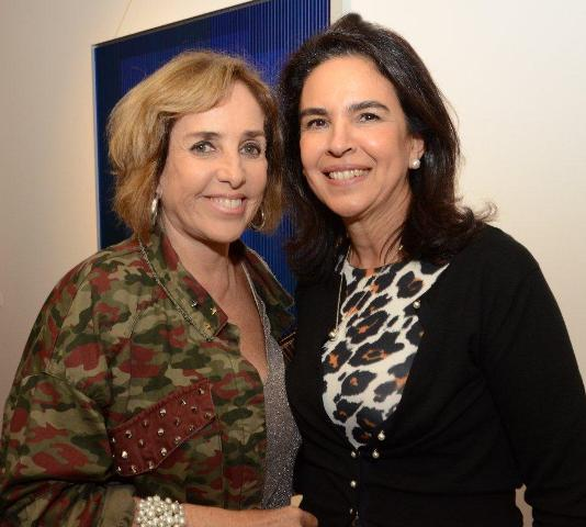 Vera Bocayuva e Joy Garrido