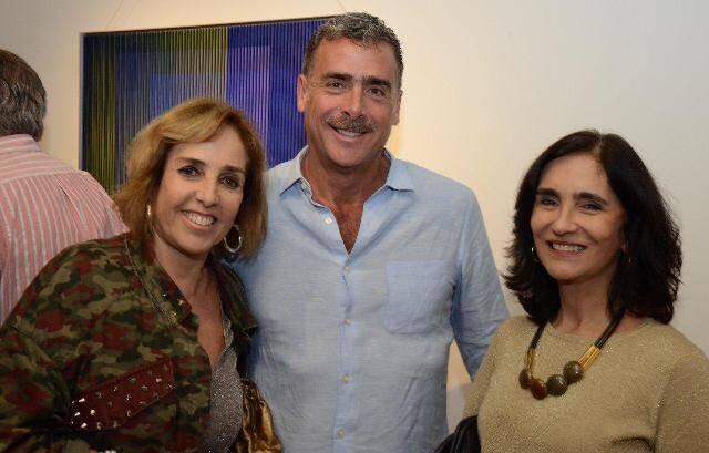 Vera Bocayuva, Kática Leite Barbosa e Roberto Caballero