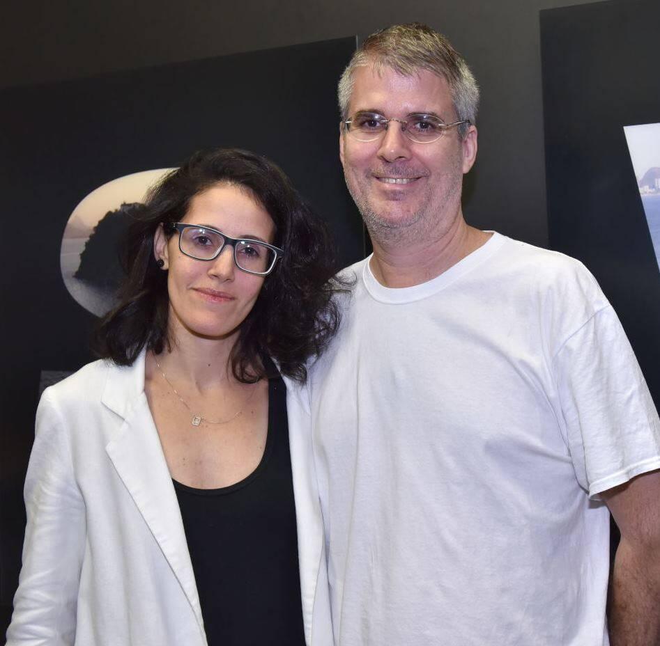 Patrícia Toscano e André Sheik