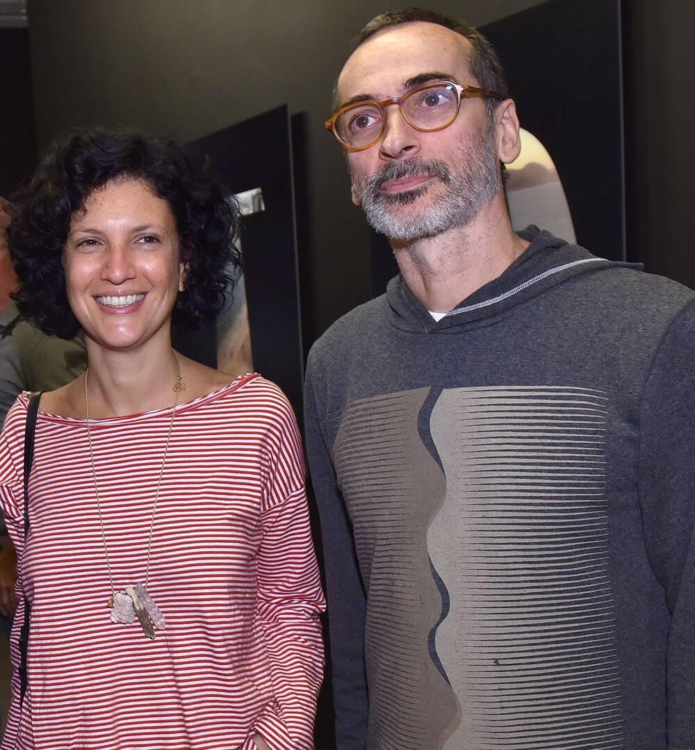 Luisa Mello e Luiz Zerbini