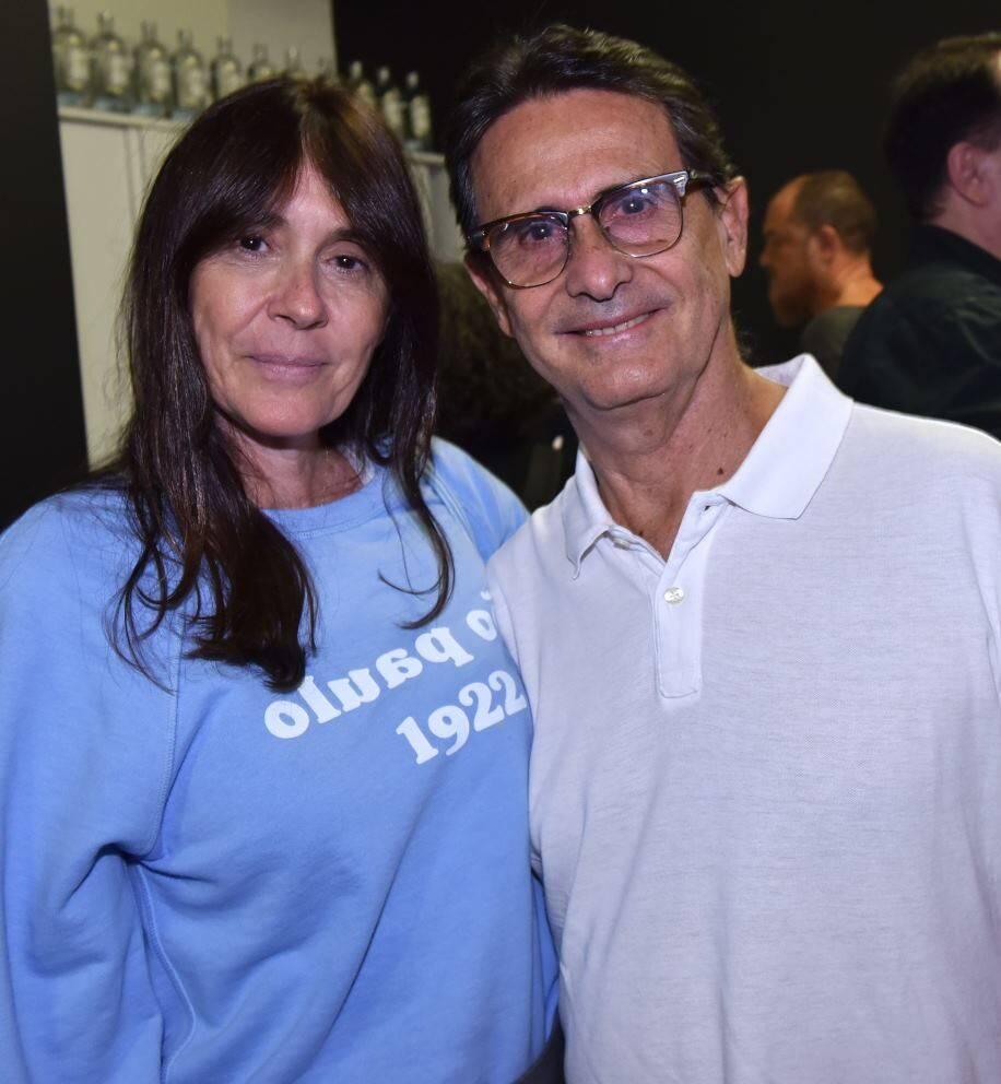 Cláudia e Hélio Paulo Ferraz