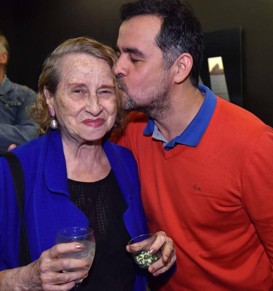 Anna Bella Geiger e Alberto Saraiva
