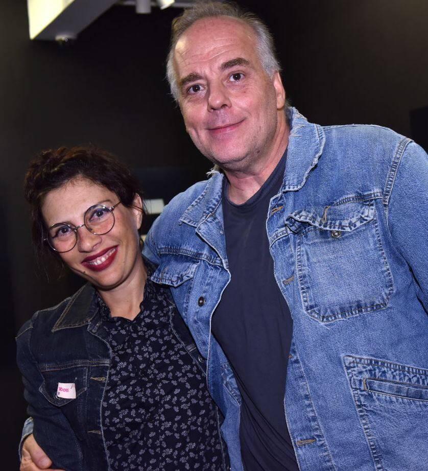 Patrizia D'Angelo e Ricardo Fasanello