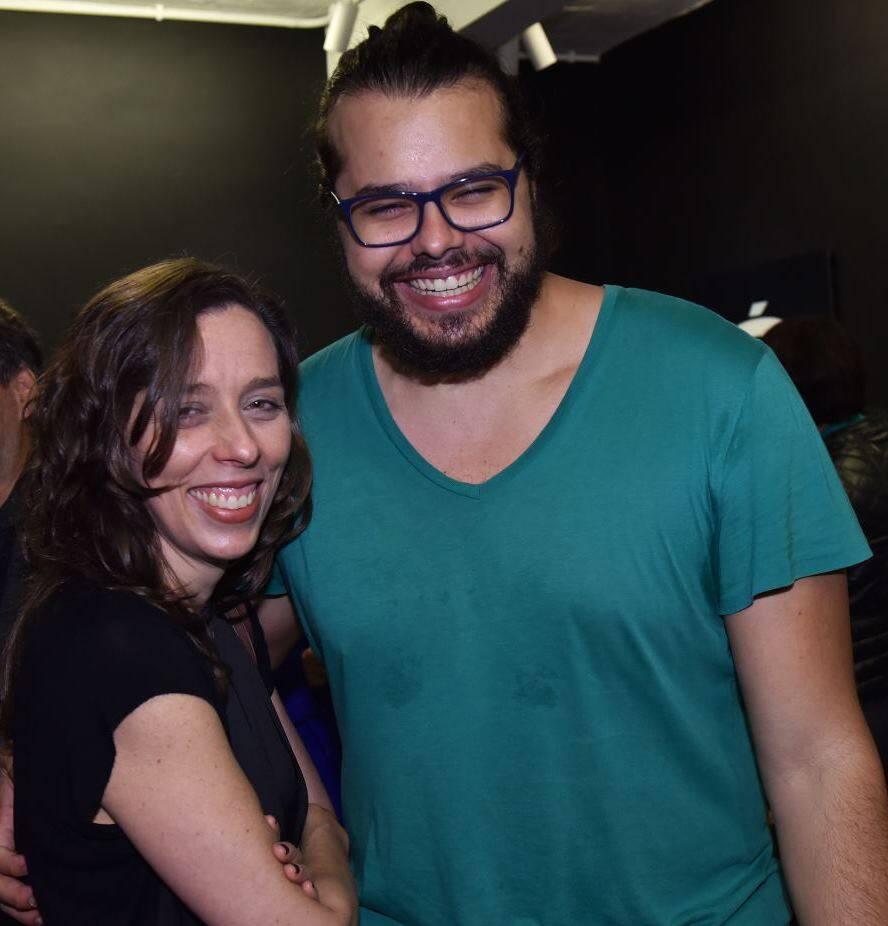 Isabel Diegues e Omar Salomão
