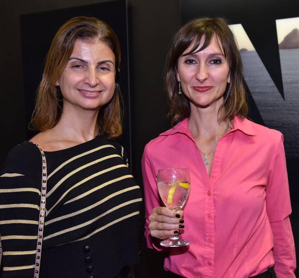 Helena Basil e Gabriela Werneck