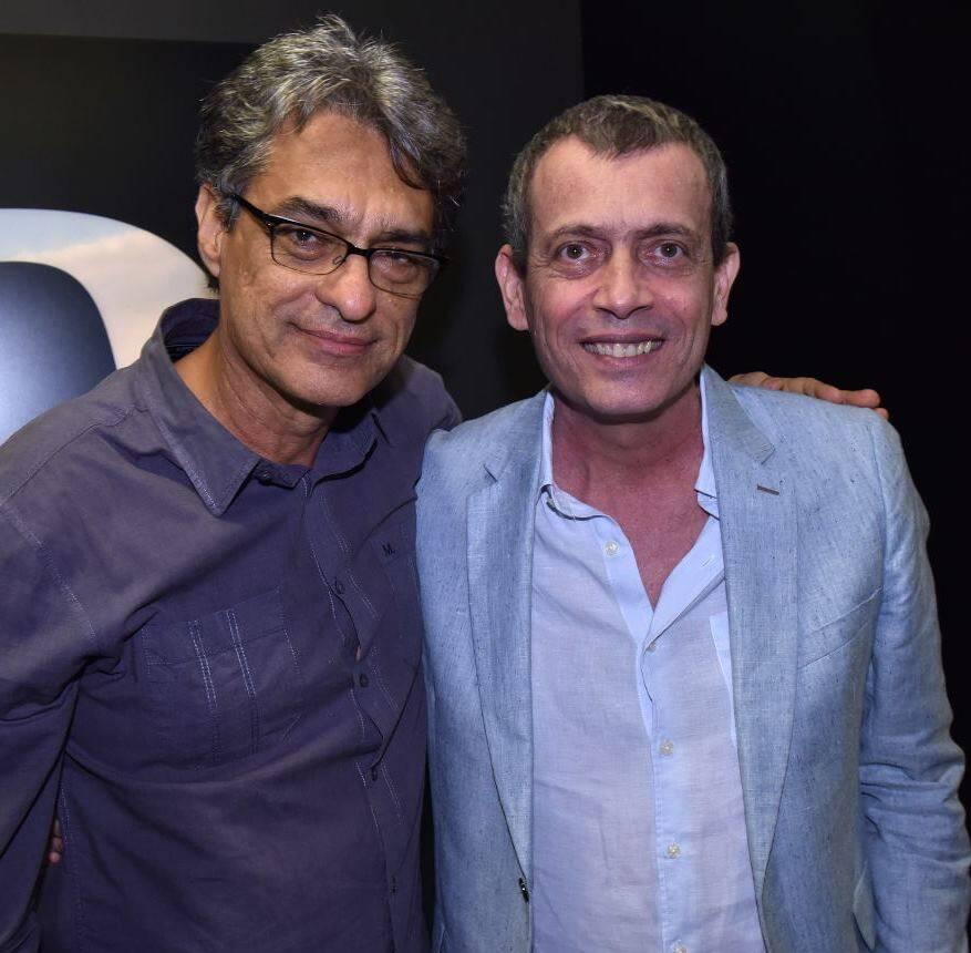 Evando Salles e Carlito Carvalhosa