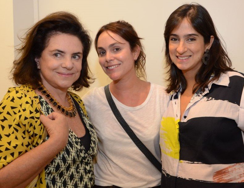 Christina Burlamaqui, Bettina Saboia e Renata Leite Barbosa