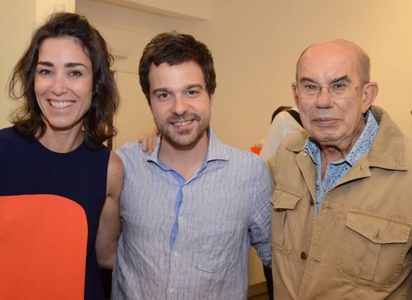 Gabriela Moraes, Bruno Dunley e Antonio Dias