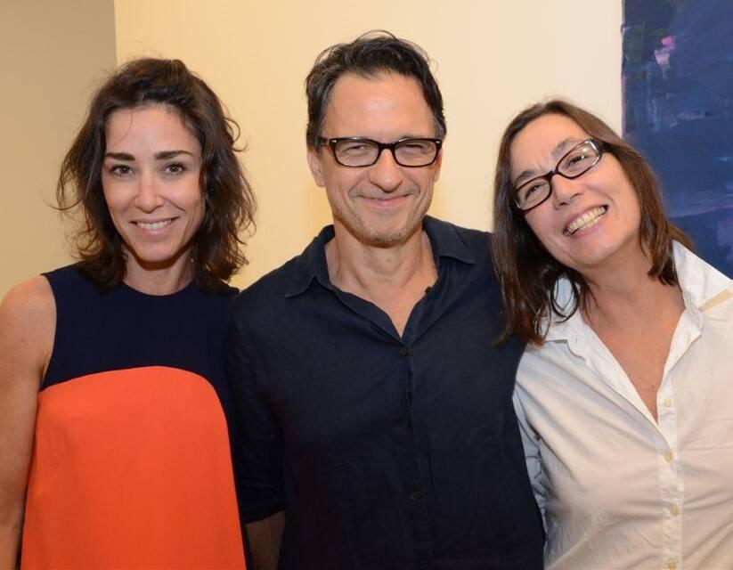 Gabriela Moraes, Daniel Senise e Fernanda Gomes