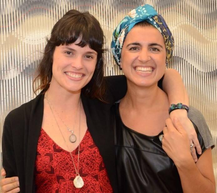Luiza de Paula Machado e Violeta Pavão