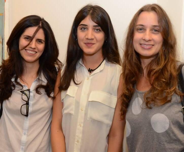 Luiza Duarte, Vivian Caccuri e Luiza Baldan
