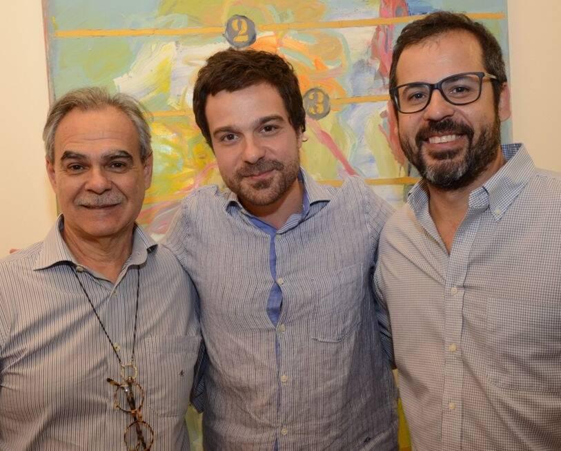 Max Perlingeiro,   Bruno Dunley e Daniel Roesler