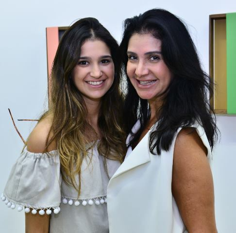 Ana Gabriela e Gilza Velloso