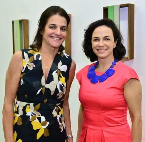 Bebel Palhares e Rosa Marques Moreira