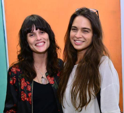 Luiza de Paula Machado e Maria Espírito Santo