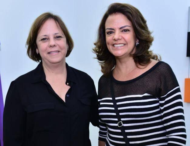 Patricia Caldas e Roma Drummond