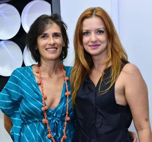 Manuela Perrino e Fabíola Giffoni