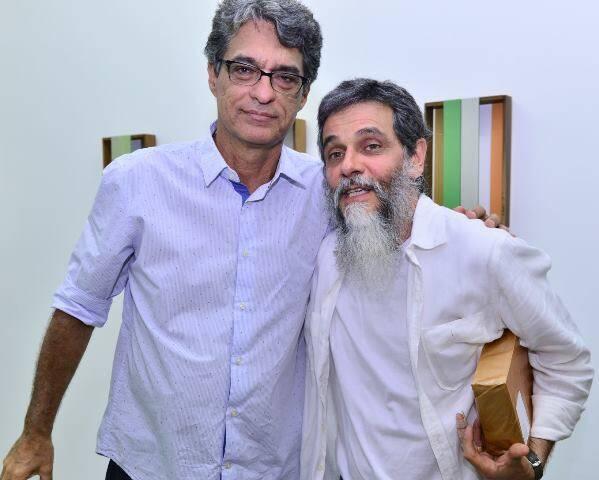 Evandro Salles e Nelson Félix